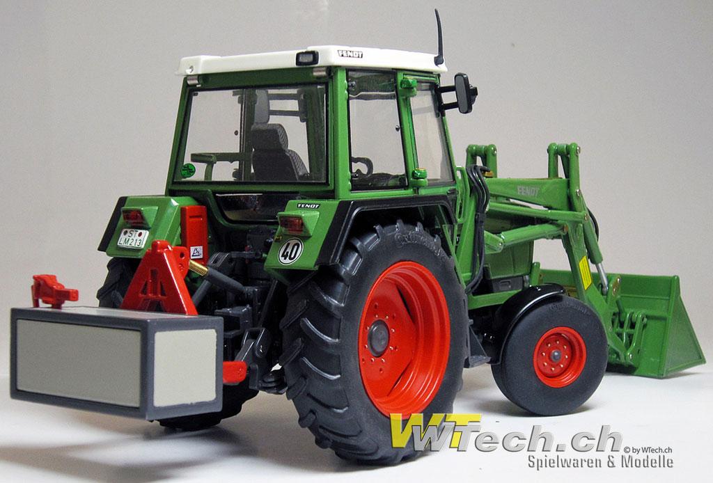 weise toys w1024 fendt farmer 306 ls mit frontlader. Black Bedroom Furniture Sets. Home Design Ideas