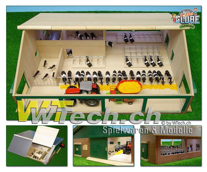 4 Stück 610762 Kids Globe Rundballen Set passend auch für Siku 1:32