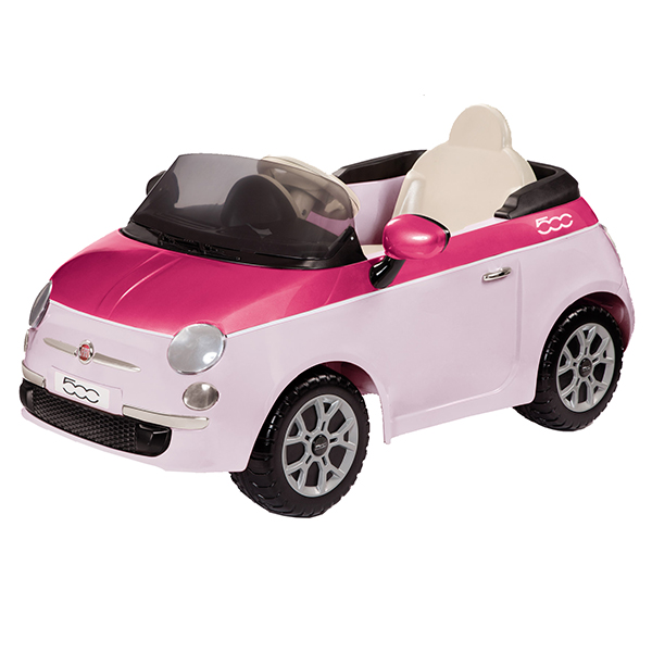 peg perego kinderfahrzeuge 1162 fiat 500 pink 6 volt inkl. Black Bedroom Furniture Sets. Home Design Ideas