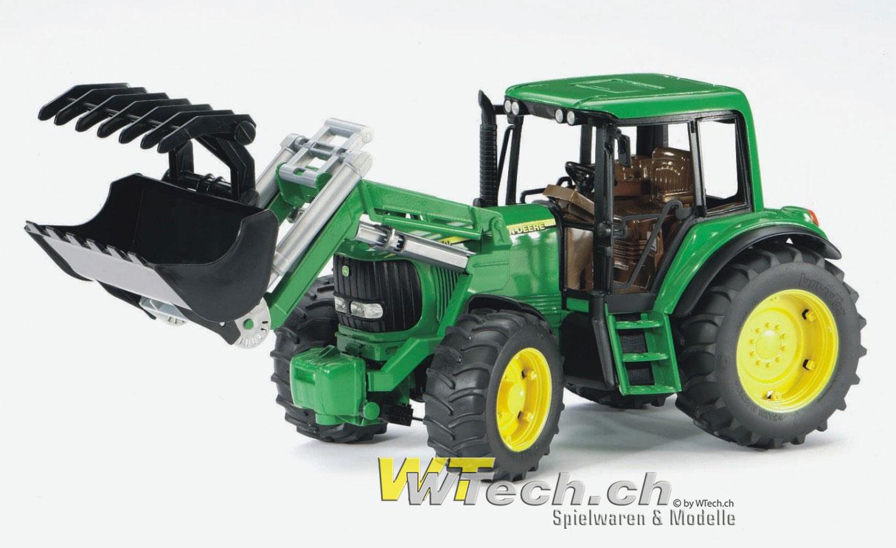 Rolly Toys John Deere Tret-Traktor Test - spielzeugorg