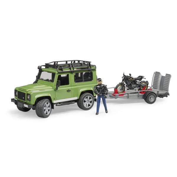 6c338e0375635f 02598 Land Rover Station Wagon mit Anhänger, Ducati Scrambler Café Racer  und Fahrer, Bruder Spielzeug auf WTech.ch, Onlineshop für Spielzeuge und  Modelle
