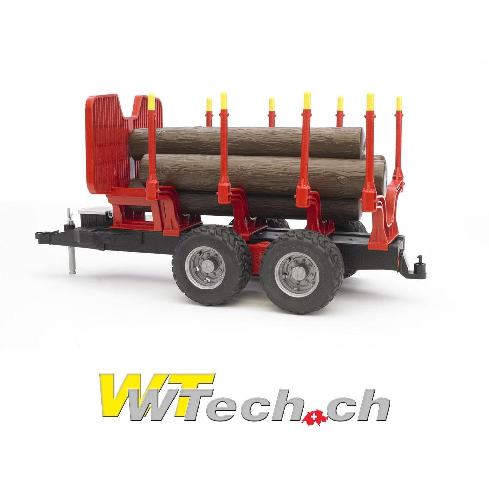 1494b183382214 02251 Rückeanhänger+4 Baumstämme , Bruder Spielzeug auf WTech.ch, Onlineshop  für Spielzeuge und Modelle