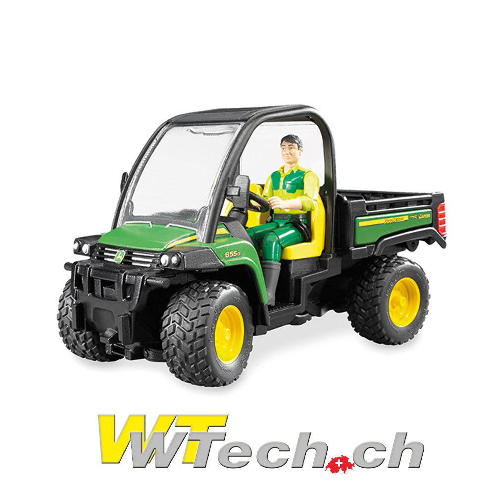 bruder spielzeug 02491 john deere gator xuv 855d bruder. Black Bedroom Furniture Sets. Home Design Ideas