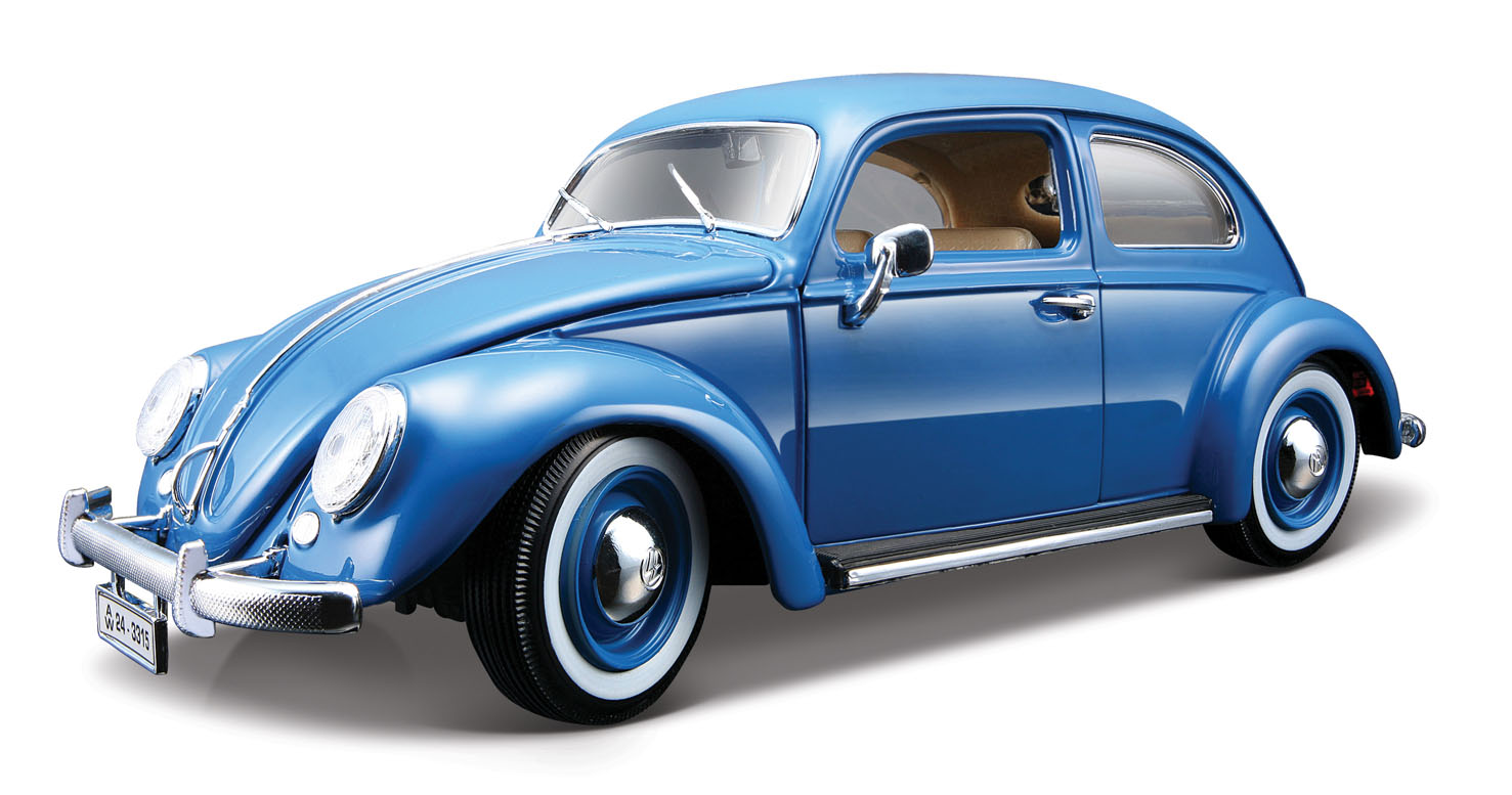 bburago 1812029 b volkswagen k fer 1955 blau bburago. Black Bedroom Furniture Sets. Home Design Ideas