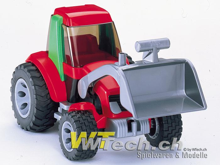 Bruder spielzeug traktor mit frontlader roadmax aus