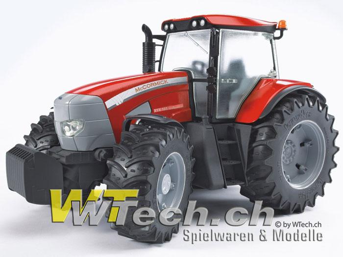 Bruder spielzeug traktor mccormick xtx profi